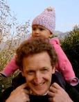Steve Sherwood with his daughter Nina.