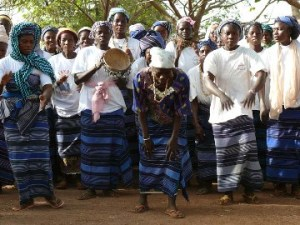 Women's association in Burkina Faso