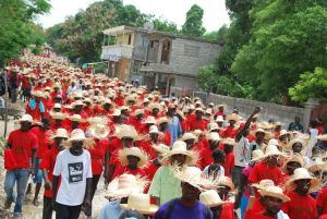10,000 Haitian farmers protesting Monsanto