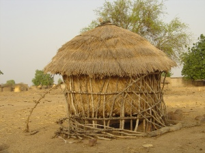 Traditional Granary in Burkina Faso