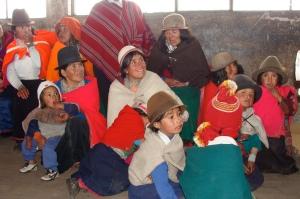 Ekorural community workshop in Galtes, Ecuador.